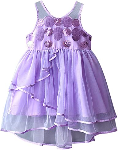 infant//toddler//baby blue purple Cap Sleeves Pageant Dress 130
