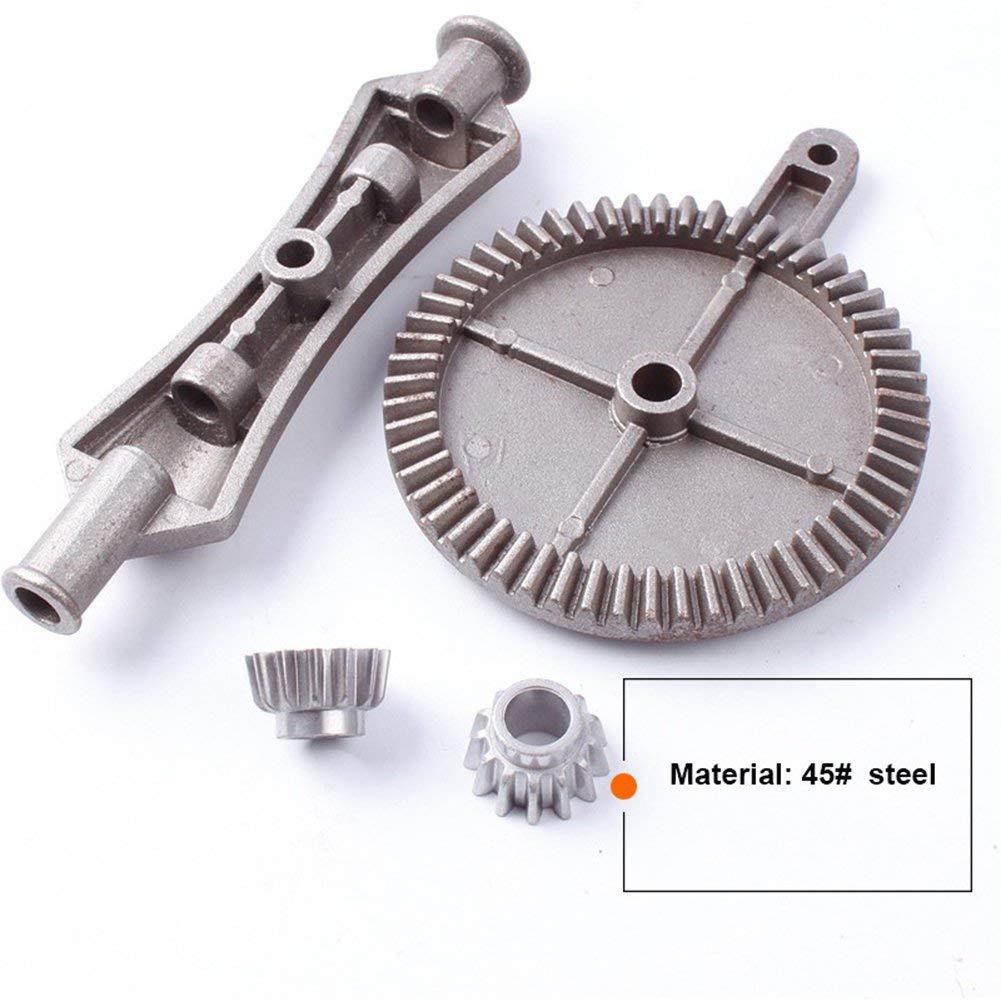 plastique FireAngels Perceuse manuelle manuelle /à 3 m/âchoires en acier moul/é pour bois m/étal souple avec mandrin