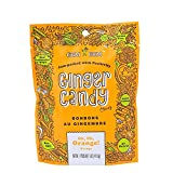 Gem Gem All Natural Chewy Oh, Oh, Orange Ginger Candy 1.25 oz (Pack of 12)