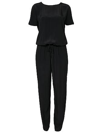6b8cca7d Samsøe Samsøe Women's Weil Jumpsuit Black Medium: Amazon.co.uk: Clothing
