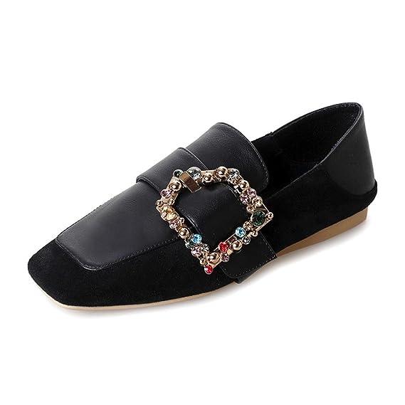 Zapatos de mujer de los pisos de Covermason Zapatos cómodos de