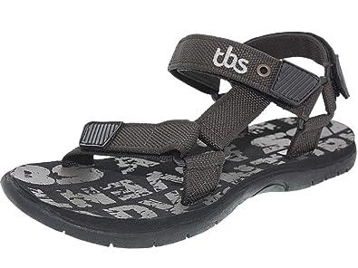 2e2eb2a12b59 TBS - Nu-pieds Homme TBS - PECANS - Sandales - Choco - 44  Amazon.fr ...