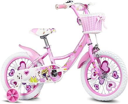 Xiaoping Bicicleta para niños, bicicleta de niña de 3 a 8 años, rosa: Amazon.es: Deportes y aire libre