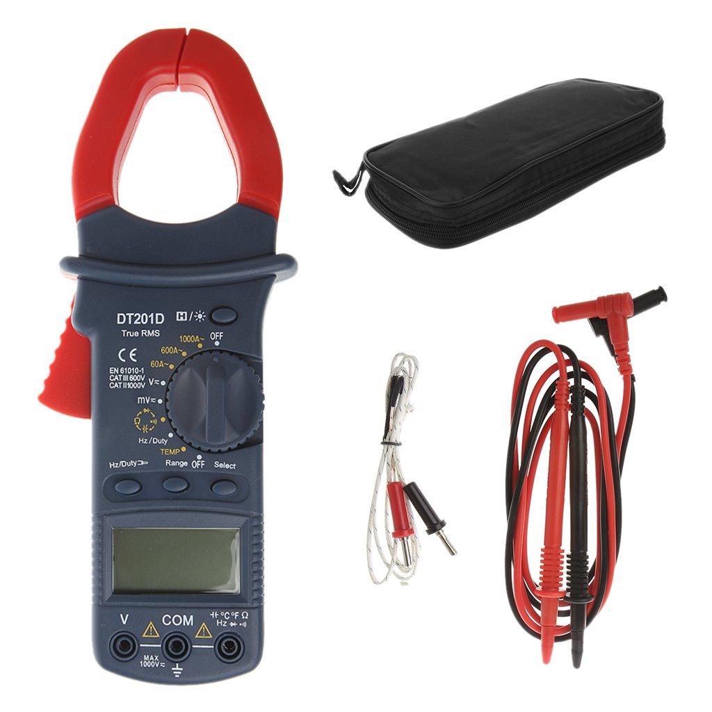 ZHONGJI Digital Handheld AC/DC Current Voltage Resistance Capacitance Multi Clamp Meter by ZHONGJI