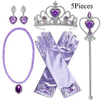 Amazon.com: Yosbabe Princesa Sofia Accesorios de vestir ...