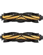 MIRTUX Kit de 2 cepillos centrales para Conga Excellence 990. Pack de Rodillo Cepillo Central