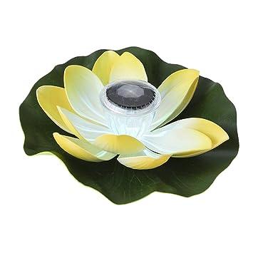 Baoblaze Lanterne Chinoise Lampe Solaire Alimenté Fleur ...