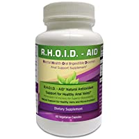 R.H.O.I.D. - AID | 100% Natural Hemorrhoid Treatment & Anal Support Supplement