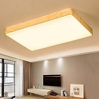 Die Moderne, Wie Lounge Führte Die Schlafzimmer Bad Zimmer, Eisen, Holz  Imitierenden Deckenleuchte