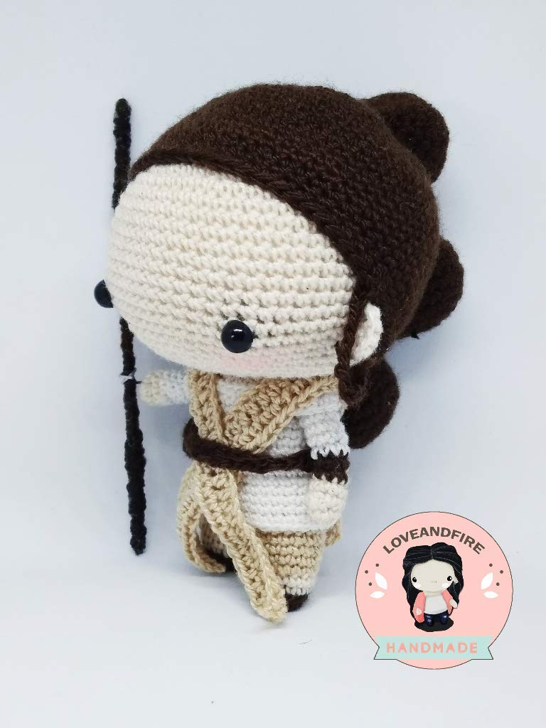 Rey Crochet Pattern - Instant Download - Rey from Star Wars ... | 1024x768