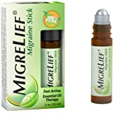 MigreLief Headache Essential Oil Roll On - 10ml, Helps Ease Tension While Supporting Neurological Comfort - Natural Headache Option - Roller with Peppermint, Lavender Essential Oil and More
