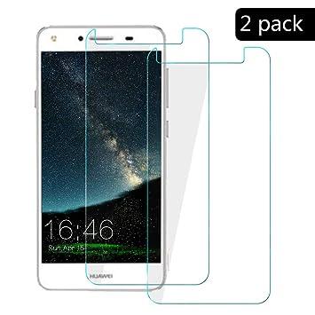 XCYYOO [2-Pack]para Huawei Y5 2017 Protector de Pantalla, Cristal ...