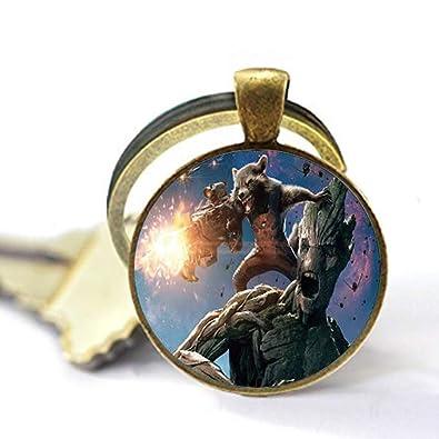 asd Guardianes de la Galaxia Souvenir Collar Star Lord Tree ...