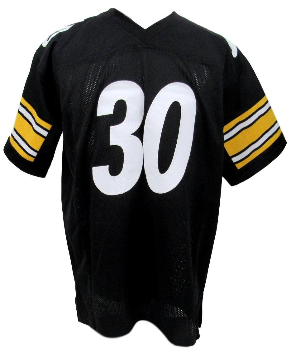 James Conner Pittsburgh Steelers Autographed/Signed Jersey Black XL JSA 135396