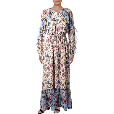 036d0dfc4c10 Amazon.com: Juicy Couture Women's Mixed Floral Maxi Dress: Clothing