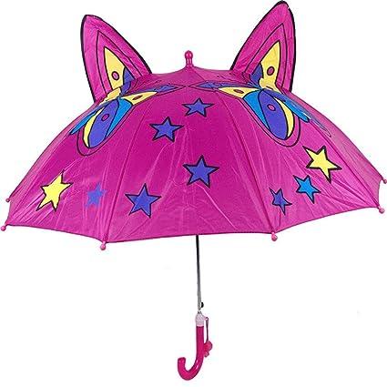 RMJCZQX Paraguas para niños Dibujos Animados Lindos Oreja Grande ...