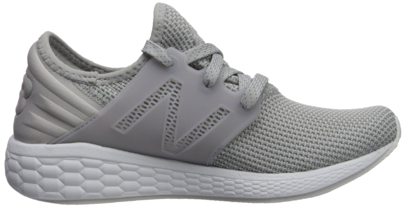 New Balance Women's Cruz V1 B0751RBN5J Fresh Foam Running Shoe B0751RBN5J V1 8.5 B(M) US|Grey/White c50a61