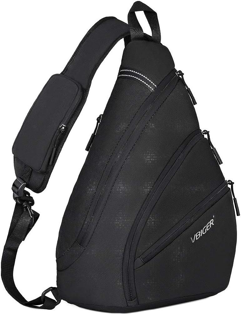 VBG VBIGER Sling Bags Crossbody Bags for Men Chest bags Waterproof Shoulder Casual Daypack Rucksack