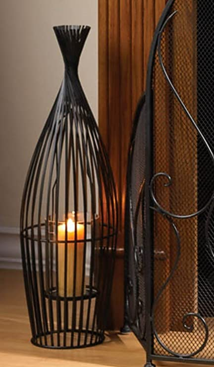 Amazon 2 Large Wire Vase Candle Holders Centerpieces 23 Tall