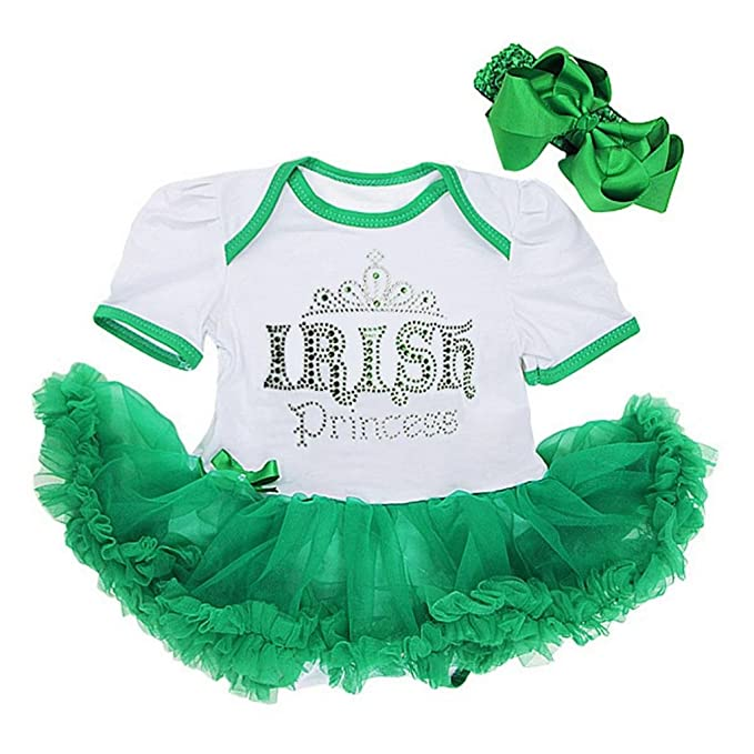 Amazon.com: Bebé Verde irlandés Princesa St Patricks Day ...