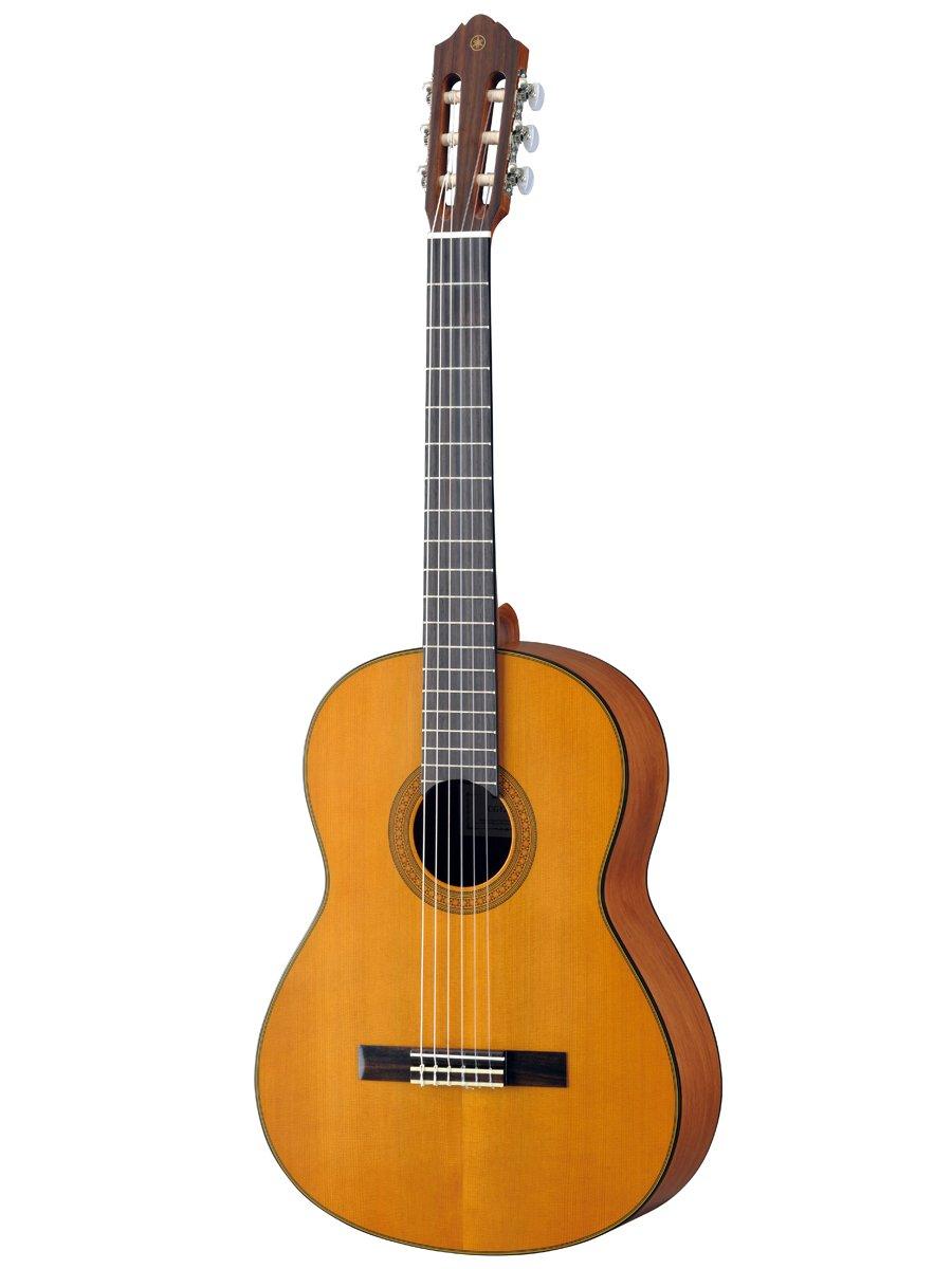 Yamaha cg122mch solid cedar top classical guitar ebay for Yamaha solid top
