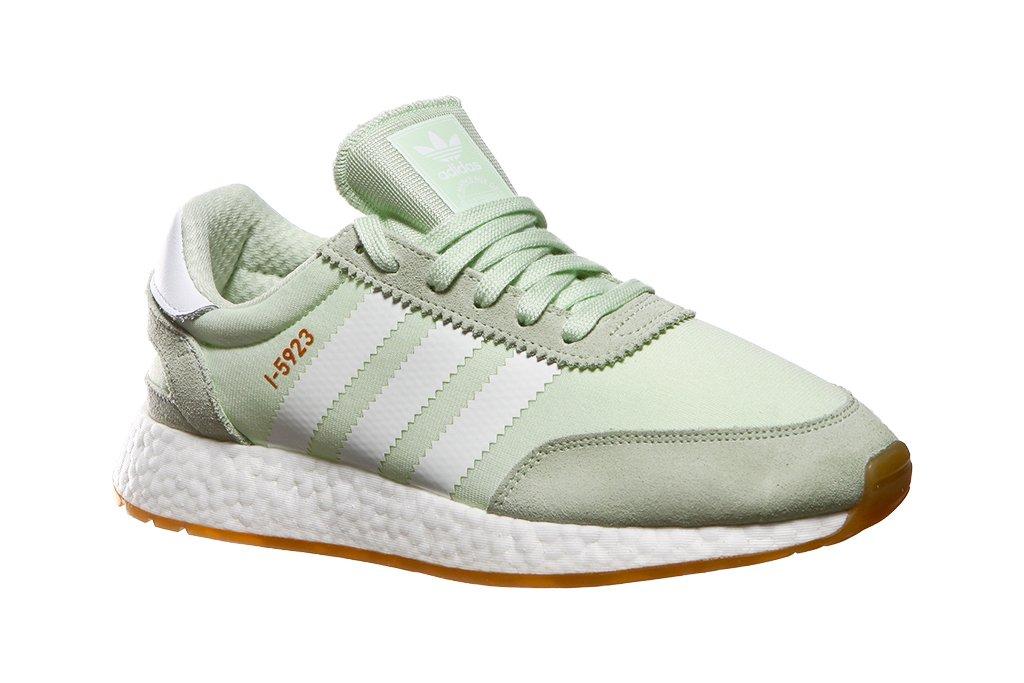 Adidas I-5923 W, Zapatillas de Deporte para Mujer 43 1/3 EU|Verde (Aerver/Ftwbla/Gum3 000)