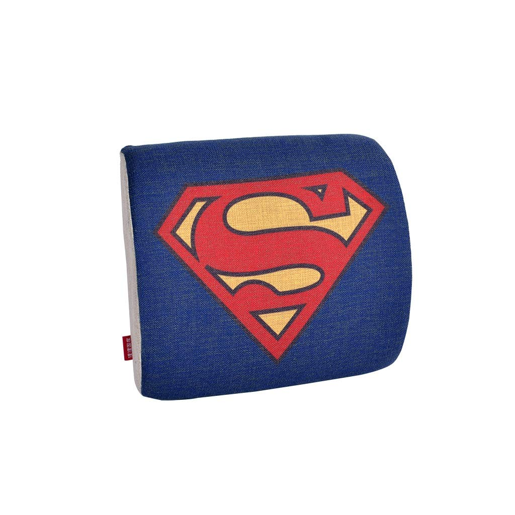 Memory Cotton Lumbar Support, Back Cushion Cushion Orthosis Outside Picnic Family Folding Chair And Office Chair Car (color : A)