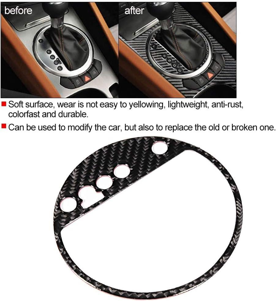 EBTOOLS Auto fahrzeug panel dekoration kohlefaser getriebe panel aufkleber fit f/ür tt 8n 8j mk123 ttrs 2008-2014