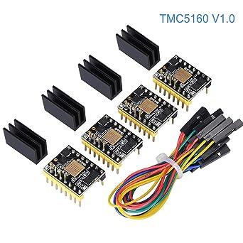 Amazon com: WitBot TMC5160 V1 0 SPI High Power Stepper Motor Driver