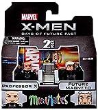 Marvel Minimates X-Men Days of Future Past Series 58 Mini Figure 2-Pack Professor X & Future Magneto