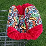 Shopping Cart Cover- Super Hero/ Red