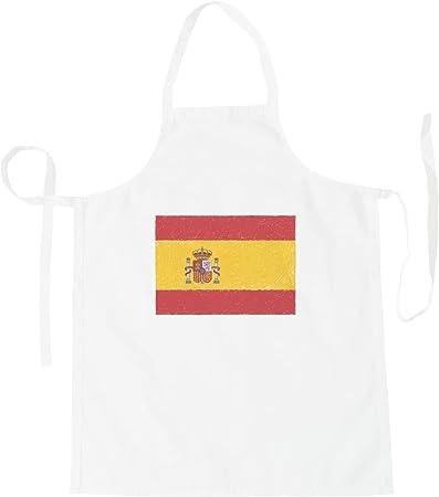 INNOGLEN Nueva Bandera De España Arte Delantal i221b: Amazon.es: Hogar