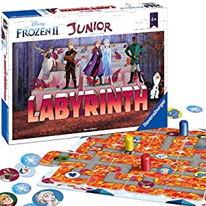 Ravensburger Disney Frozen 2 Junior Labyrinth Family Game for Boy & Girls Age 4 & Up! -The Classic Moving Maze Game…