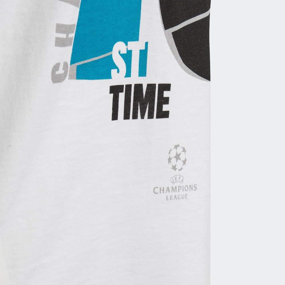 Adidas Real Madrid 13 Campeón UCL 18 Niño, Camiseta, White: Amazon.es: Deportes y aire libre