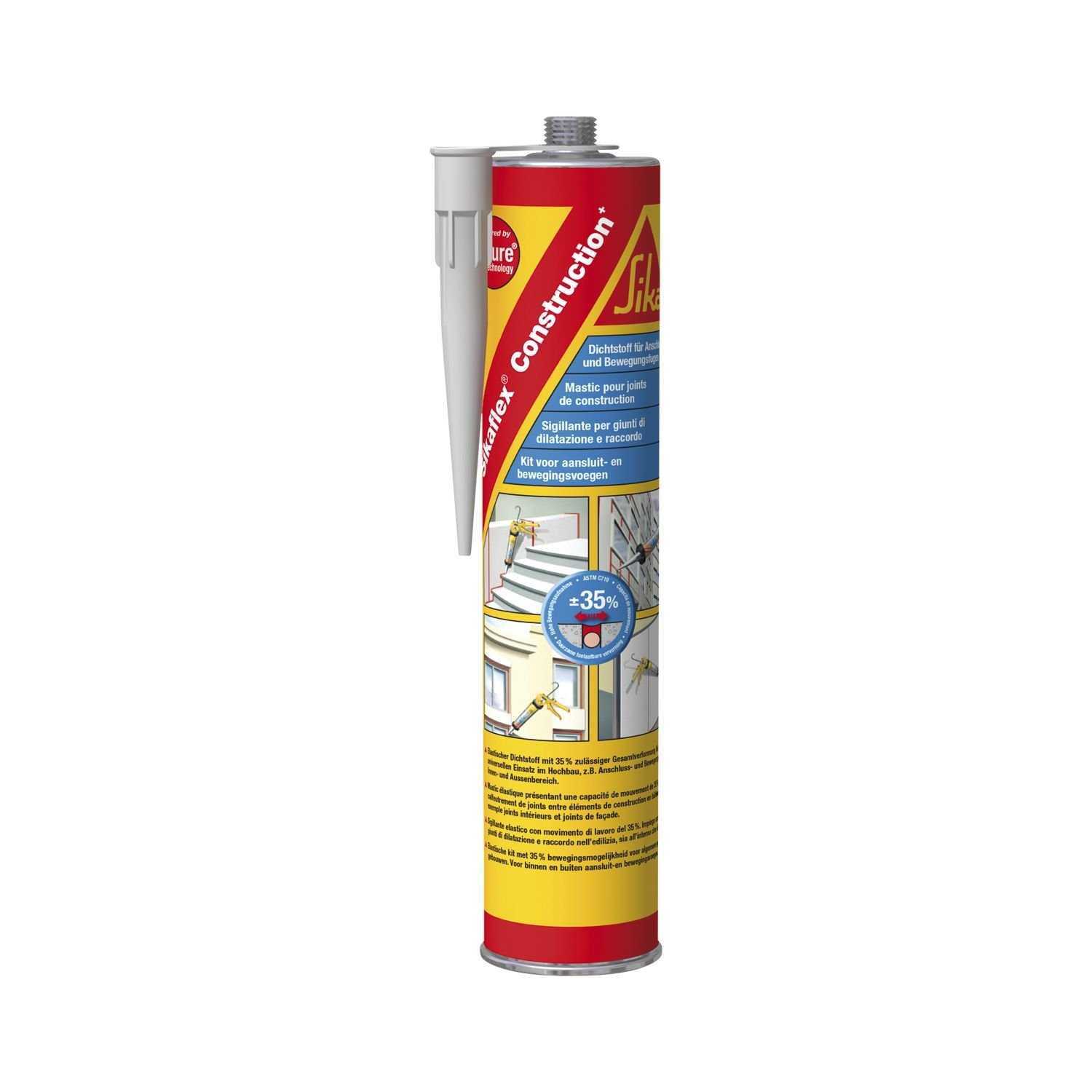 Sika 443756  Sika Flex Construction + 300  ml color blanco