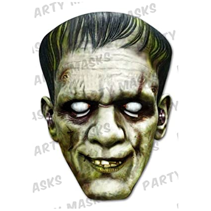 Frankenstein Cardboard Mask (máscara/careta)
