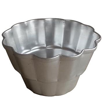 XZANTE Taza de Mini Muffin Taza de pudin de gelatina Molde de Pastel de Mousse Molde para Hornear Molde de 3 Pasteles pequenos.: Amazon.es: Hogar