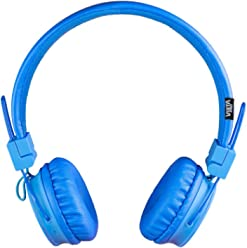 Vieta VHP-BF180BL - Auricular de diadema con Bluetooth, color azul