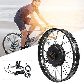 Kit de motor de bicicleta eléctrica, aleación de aluminio 48V ...