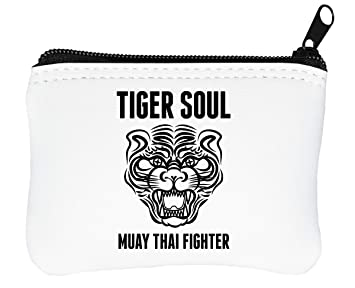 Muay Thai Tiger Soul Billetera con Cremallera Monedero ...