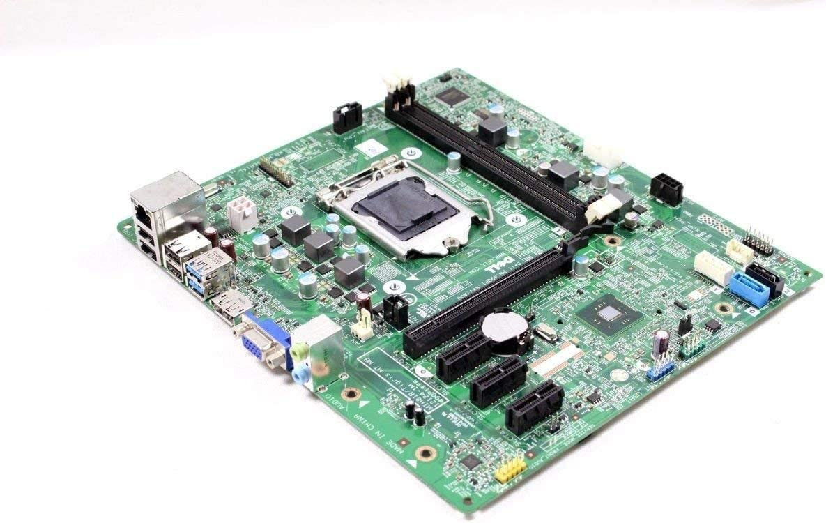 Genuine Dell Optiplex 3020 MT Mini Tower 1155 Motherboard 40DDP MIH81R 12124-1M (Renewed)