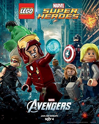 The Avengers 2012 D/S Lego Folded Movie Poster 16x20