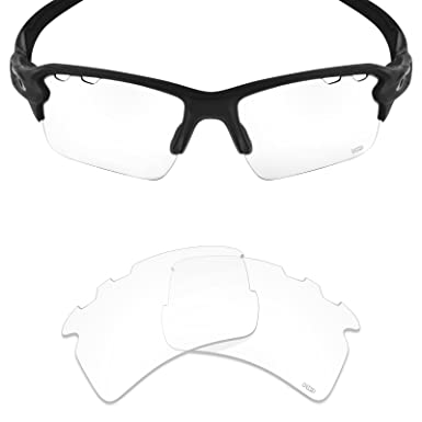 1598cb13f2 Mryok+ Polarized Replacement Lenses for Oakley Flak 2.0 XL Vented - HD Clear
