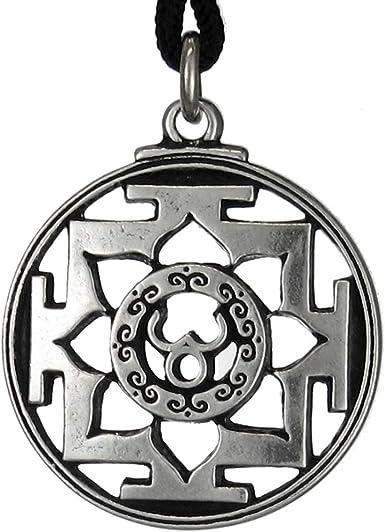 gift Box Hindu Goddess Maa Kali Necklace Transformation Hindu Yoga Yantra