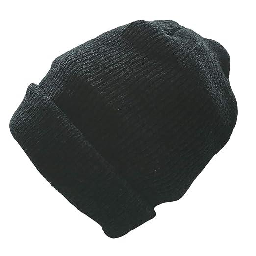 477a3dcc3 Amazon.com: Art Focus Wool Cuffed Plain Beanie Warm Winter Knit Hats ...