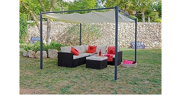 8704N102 - Carpa Acero Techo Corredero 3X3 M: Amazon.es: Bricolaje ...