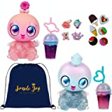 Goo Goo Galaxy 2 Pack Stella Skygems and Astra Nommy Dolls with Squeezer Belly & DIY Activity
