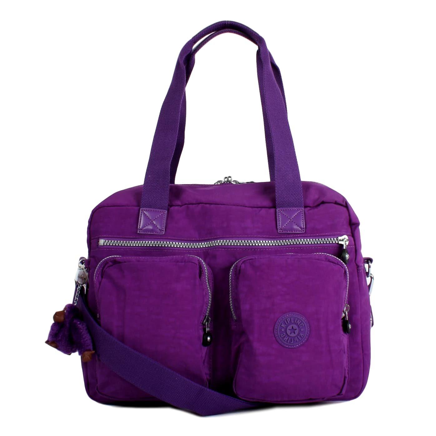 Kipling Sasha Travel Tote, One Size, Tile Purple