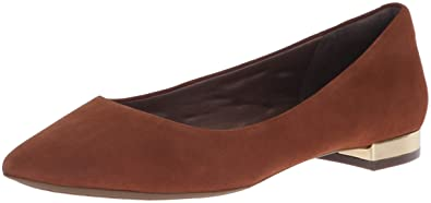 ae50344515ca2 Rockport Women's Total Motion Adelyn Ballet Loafer Flat, Almond Suede, ...