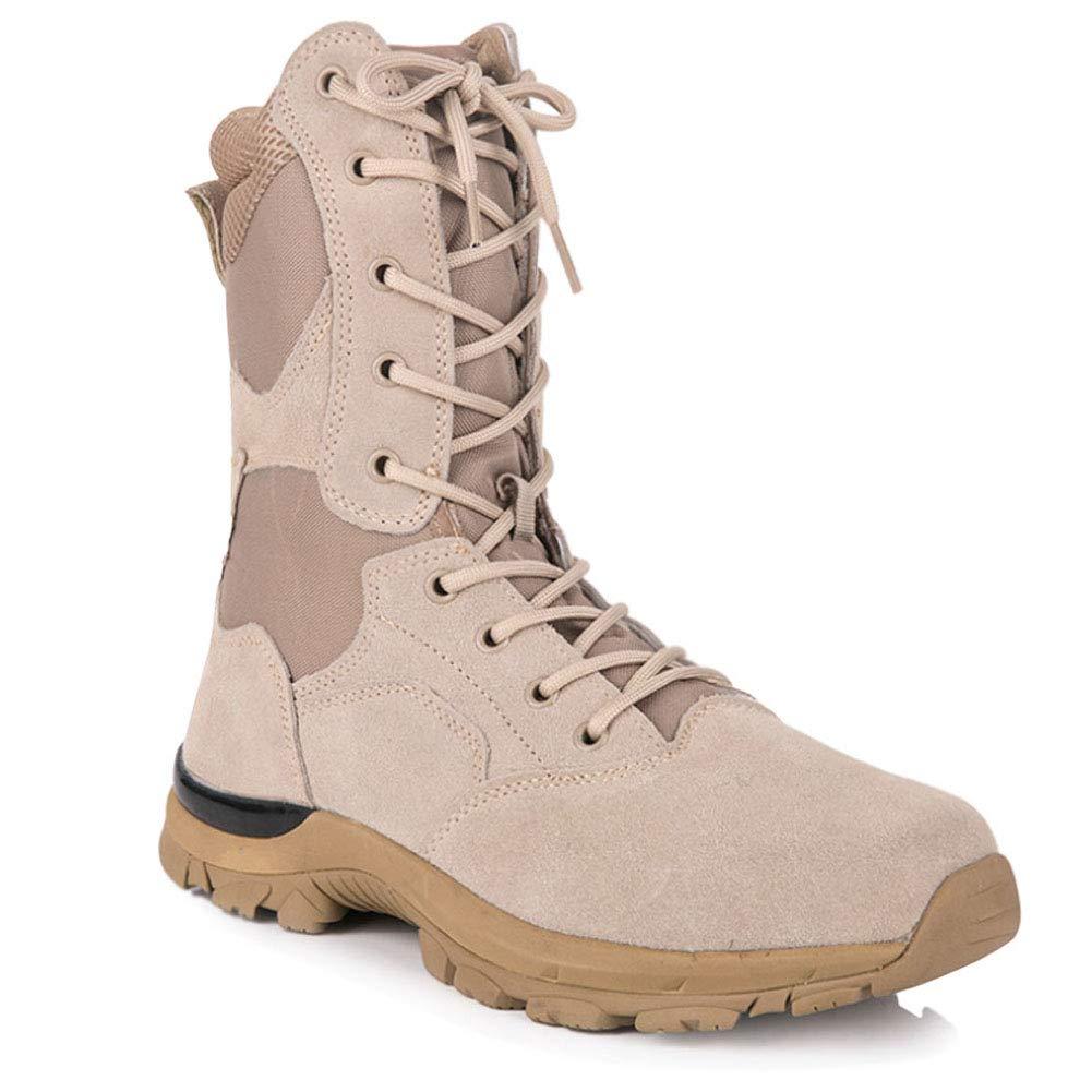 : uirend Classic High Top Combat Boots Unisex